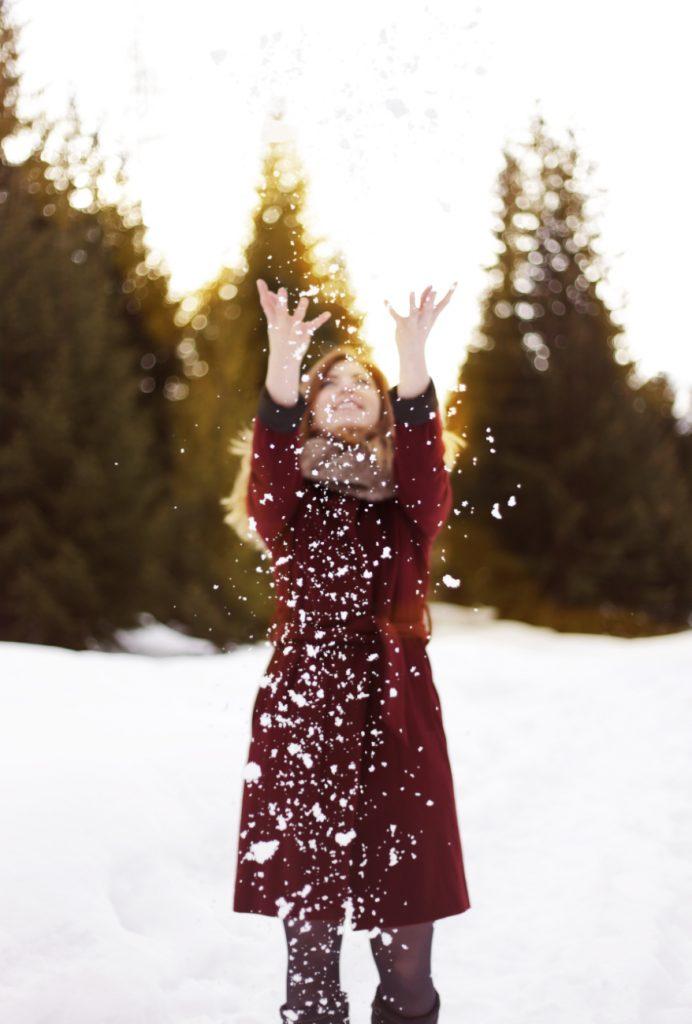 Lifestyle Fotografie Schnee